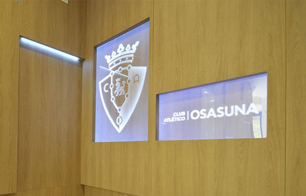 Mobiliario para C.A. Osasuna en El Sadar